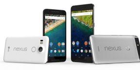 Сравниваем Nexus 5X и Nexus 6P с ближайшими конкурентами