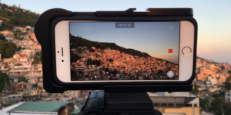 как специально сделать разрешение картинки на айфон убитой