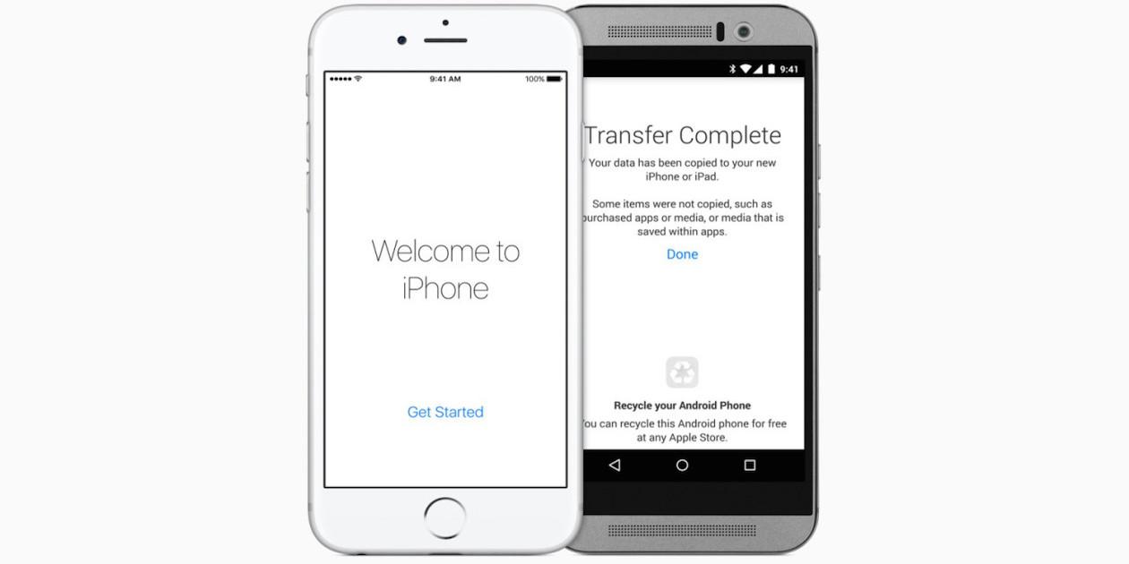 Для Move to iOS Apple скопировала код существующего приложения