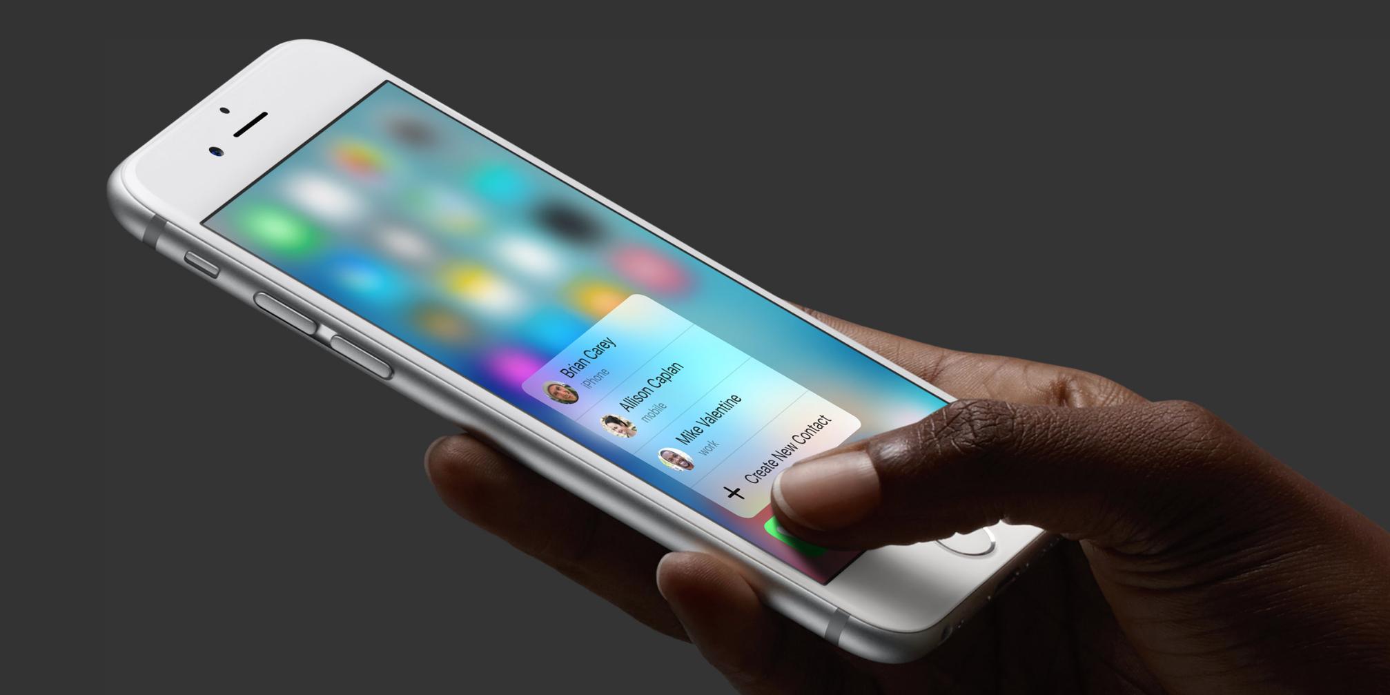 Джейлбрейк-твик добавляет функциональность 3D Touch старым iPhone