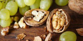 РЕЦЕПТЫ: Салаты с виноградом для бегунов