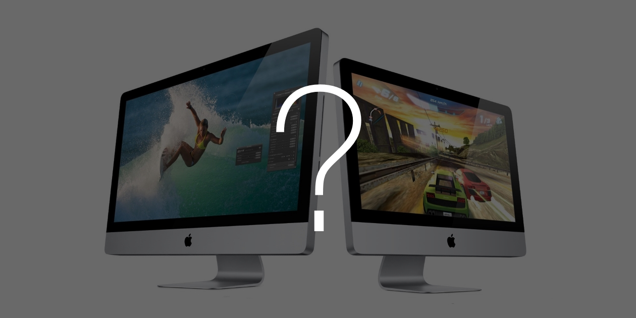 """iMac 21,5"""" или iMac 27"""": что выбрать?"""