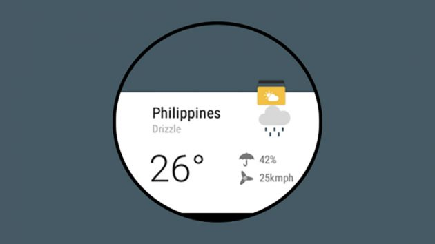 Weather Timeline — Forecast