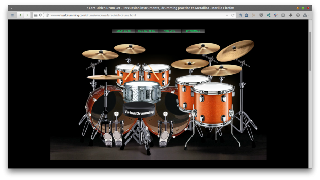 Virtual Drumming