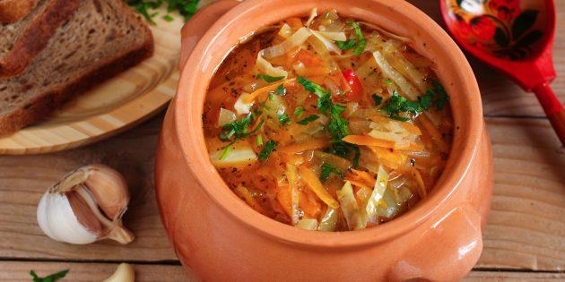 Как приготовить щи из свежей капусты с мясом