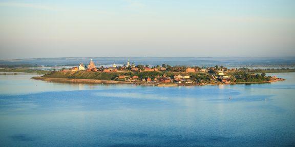 Уникальные места России, о которых вы вряд ли слышали: остров-град Свияжск