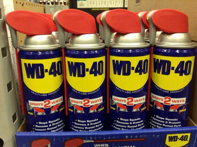 Использование жидкости WD-40 в быту