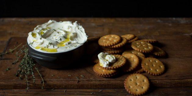 Домашний крем-сыр на основе йогурта