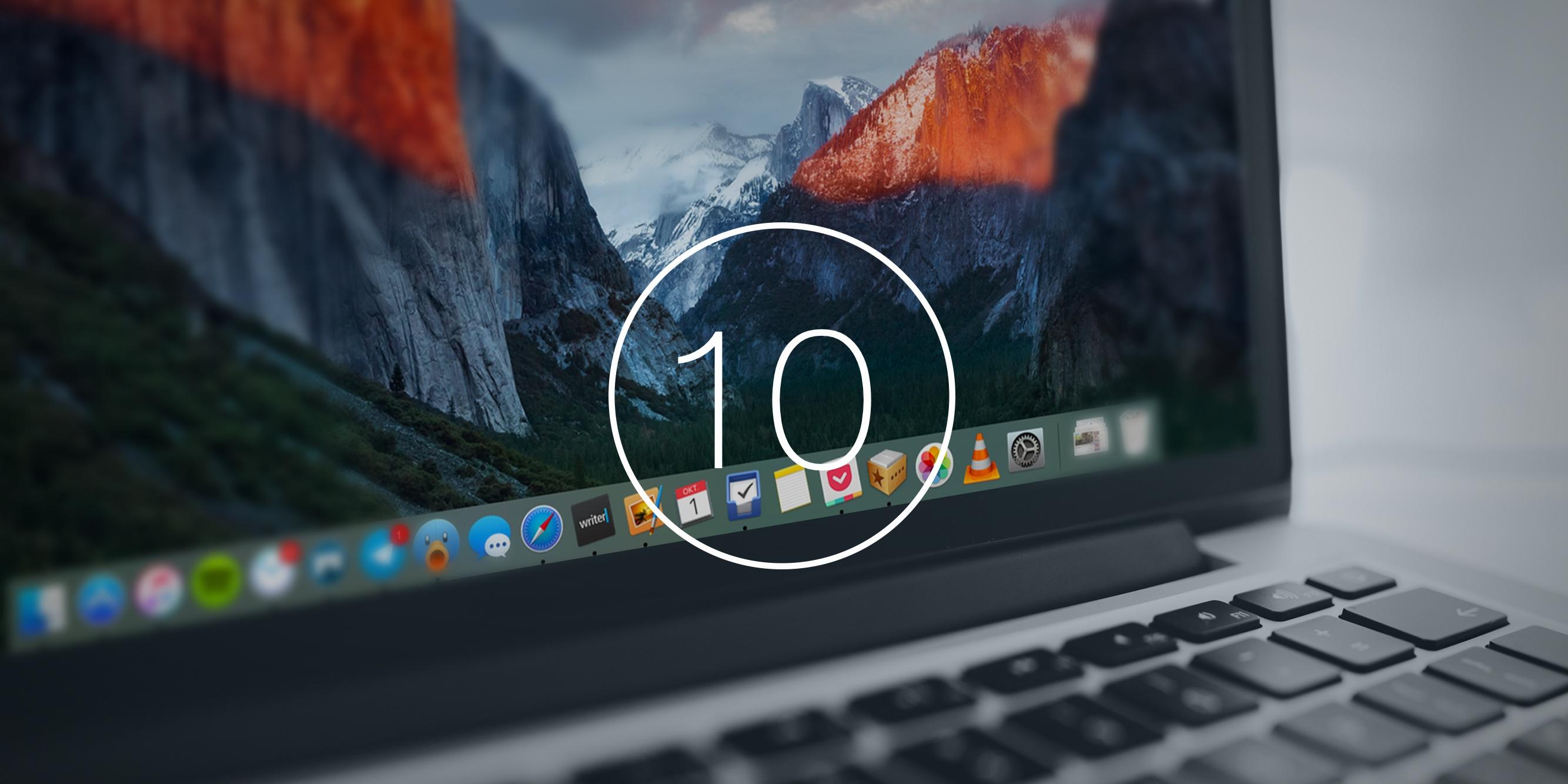 10 малозаметных, но очень крутых фишек OS X El Capitan