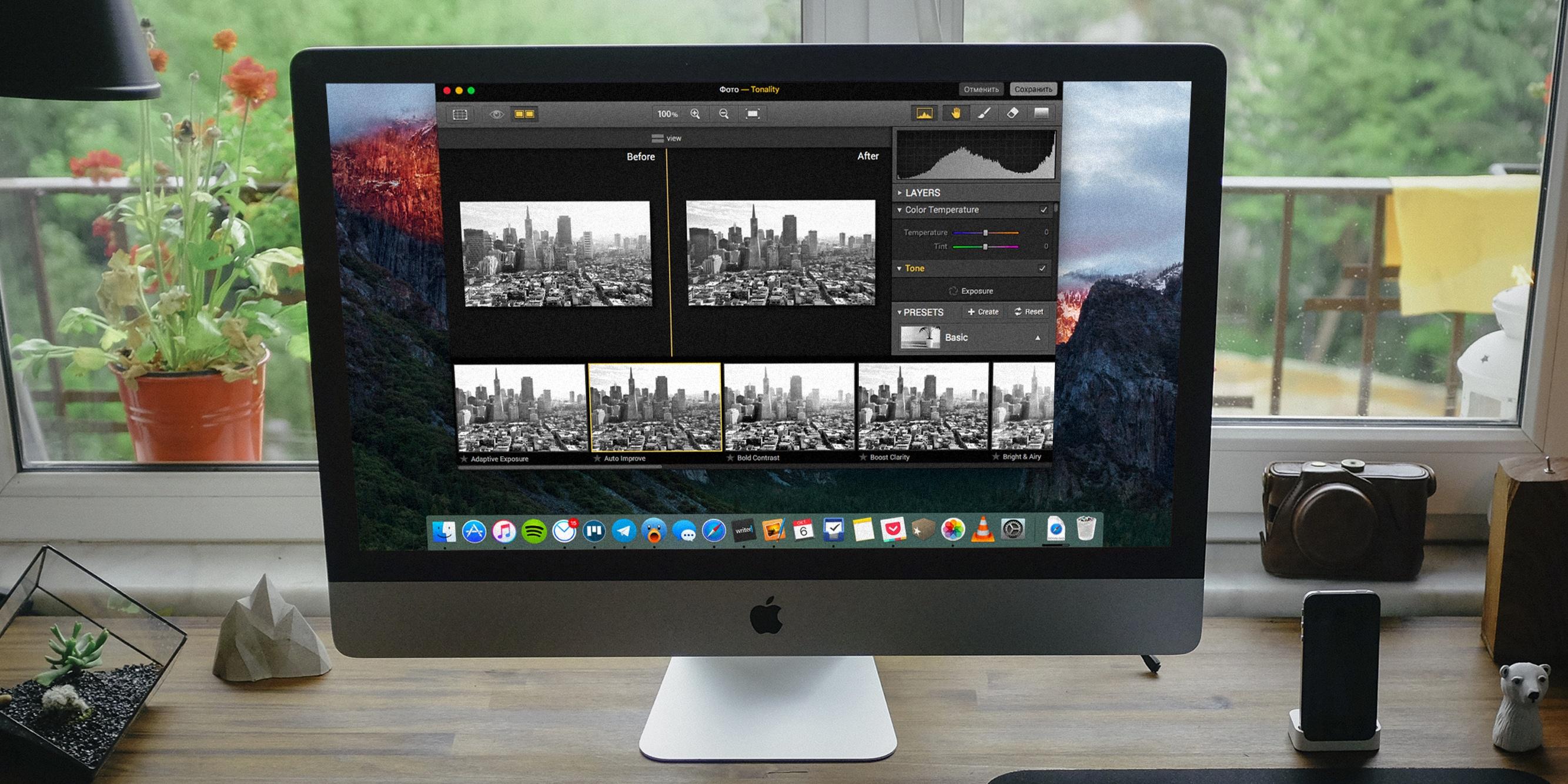 Как использовать расширения для «Фото» в OS X El Capitan
