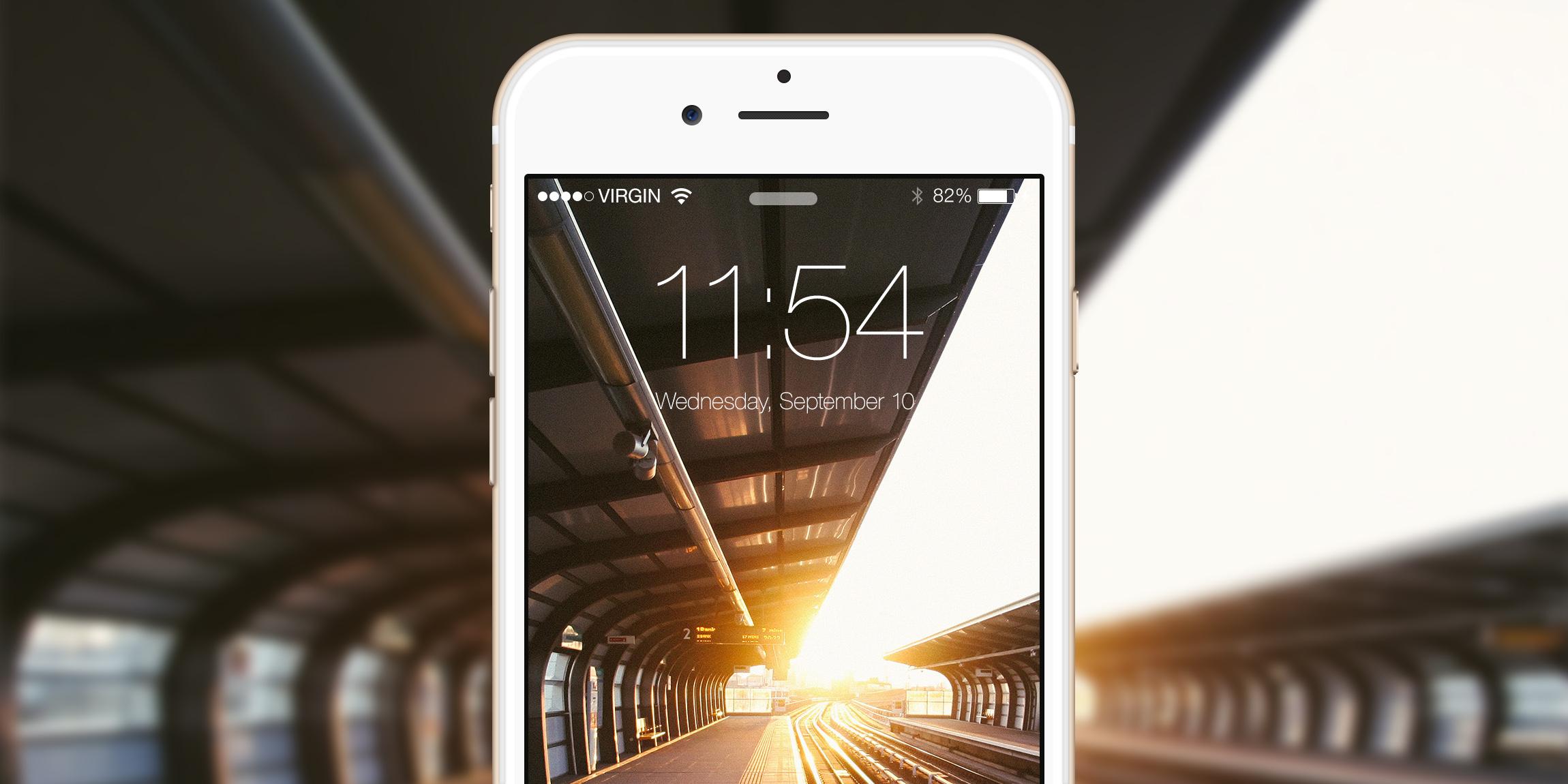 Обои для iPhone и iPad: Городские мотивы