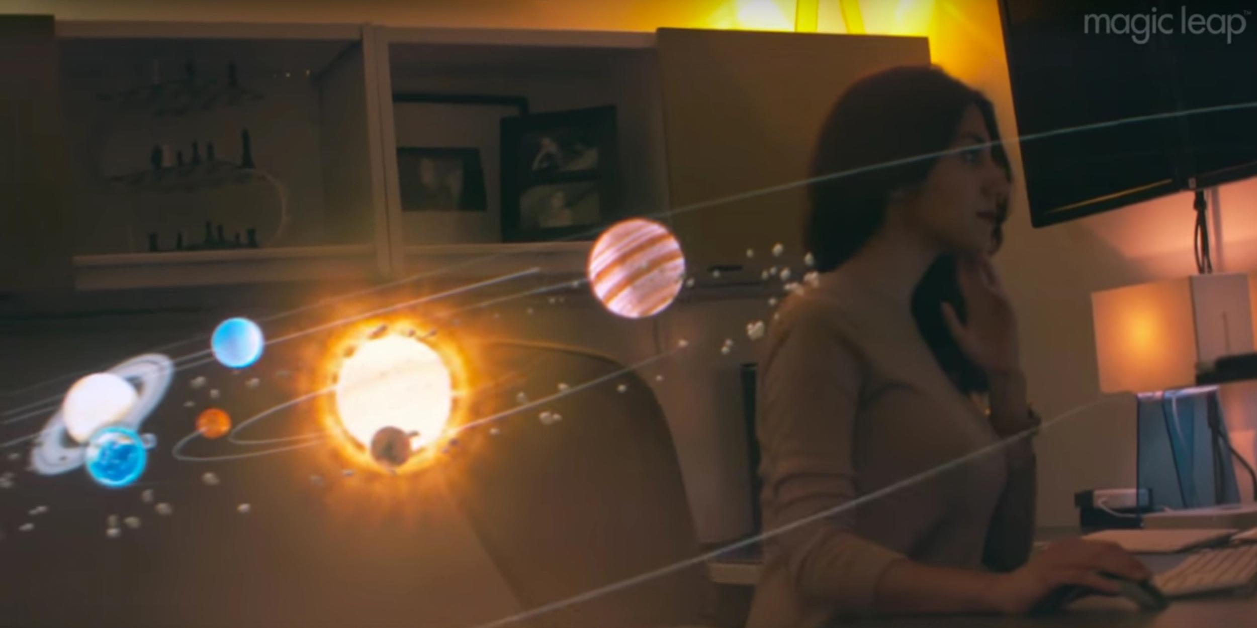 ВИДЕО: Magic Leap показала свой проект дополненной реальности