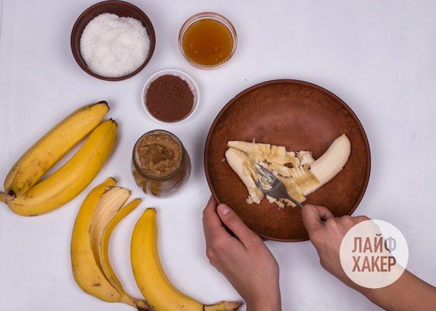 Энергетические шарики: спюрируйте банан