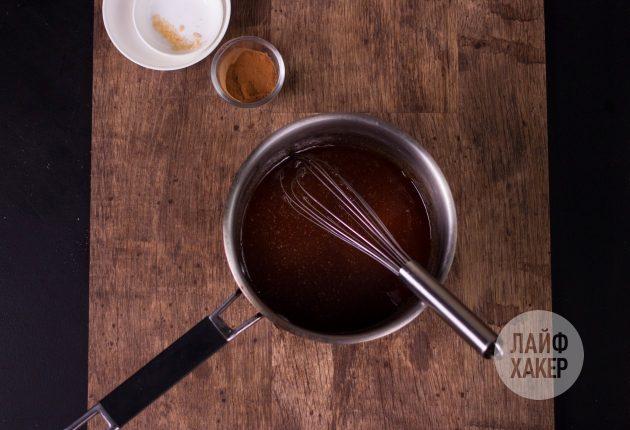 Ультрабыстрая гранола на сковороде: сварите медово-сахарный сироп