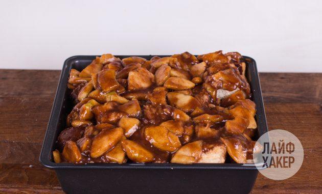 Как приготовить хлебный пудинг с яблоками: запекайте пудинг при 190 градусах