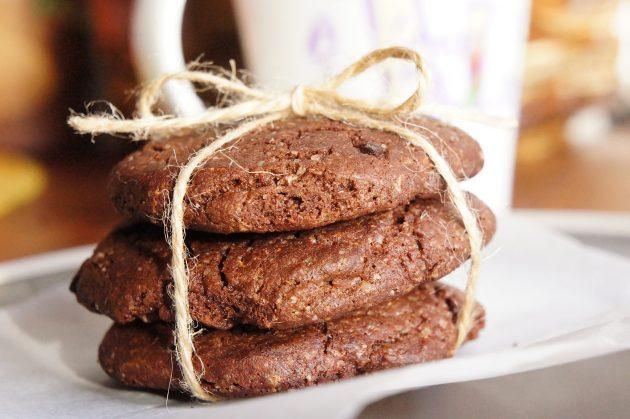 кексы с шоколадной начинкой рецепт с фото
