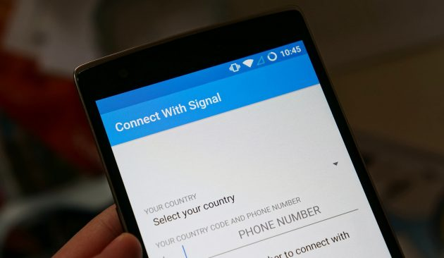 signal-android sms