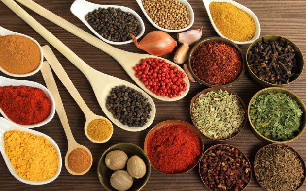 взаимозаменяемые продукты — специи и приправы
