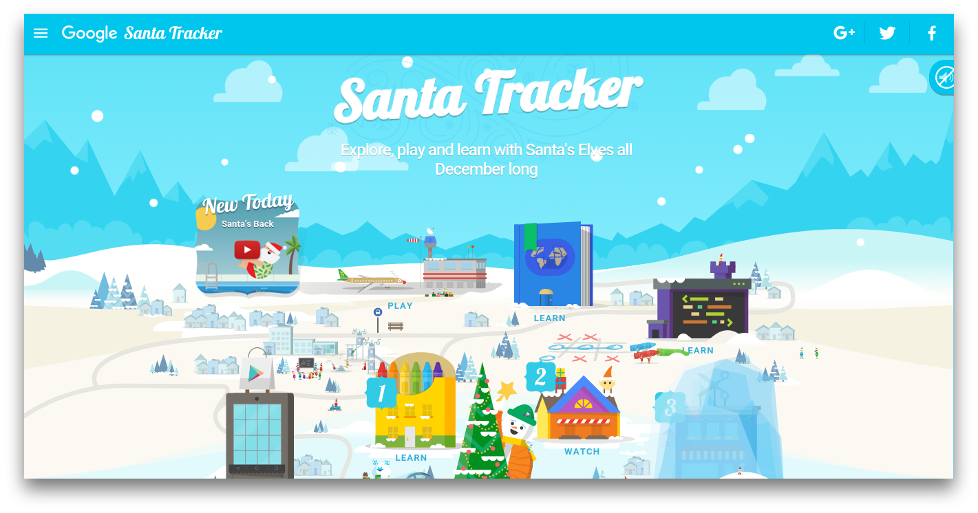 Heres how to use Googles Santa Tracker on Christmas Eve which this year includes fun games and ways to learn about Christmas