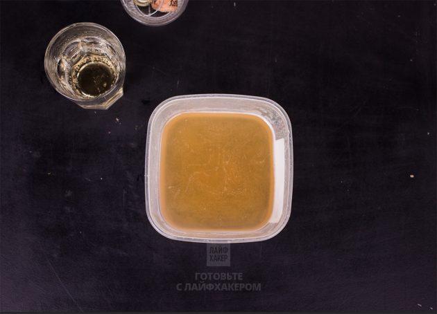 Желе из шампанского: дайте смеси застыть