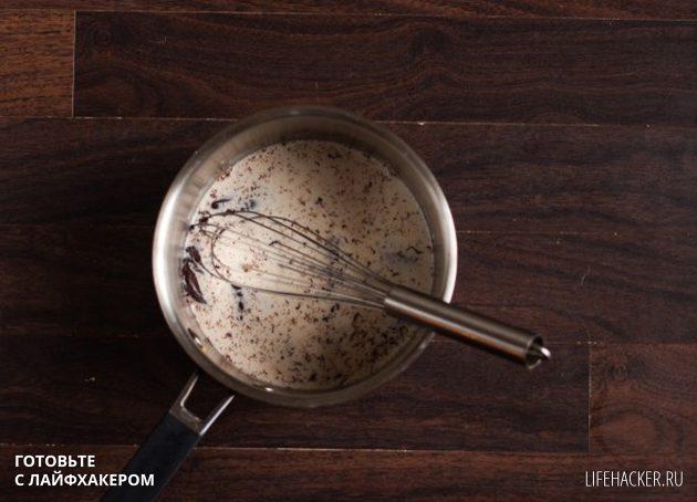 как приготовить горячий шоколад: приготовьте шоколадный ганаш