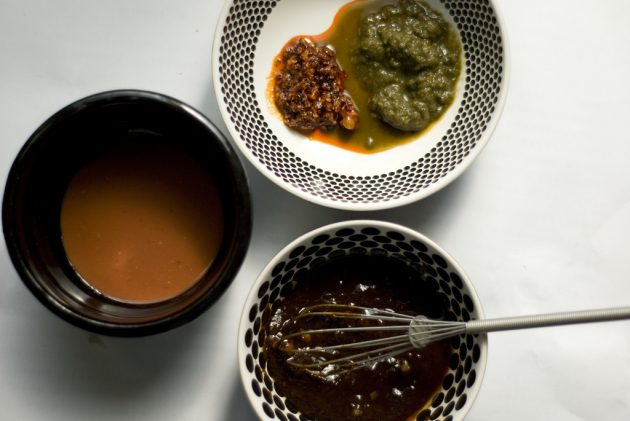 взаимозаменяемые продукты — соусы и жиры