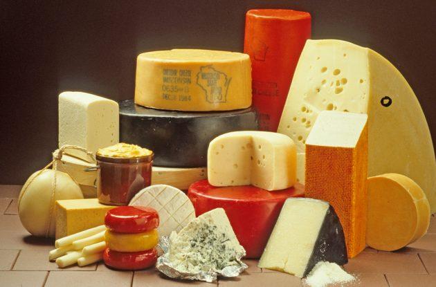 взаимозаменяемые продукты — молочные продукты и яйца