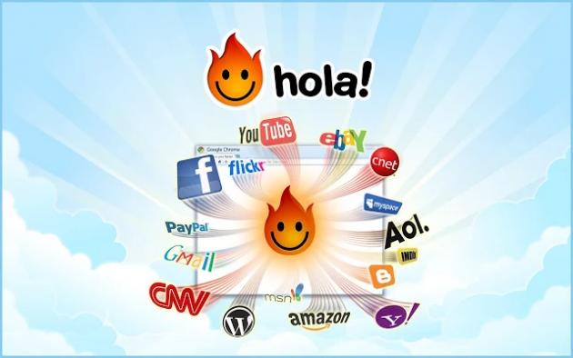 Бесплатные VPN для Chrome: Hola VPN