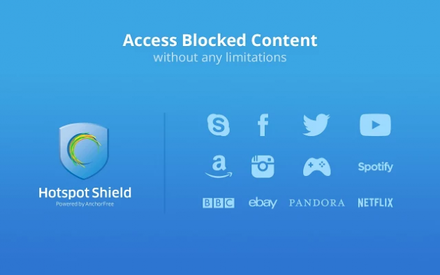 Бесплатные VPN для Chrome: Hotspot Shield