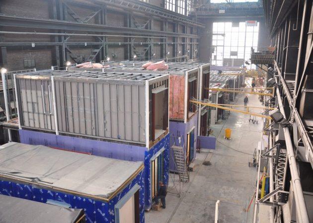 Модульный дом: строительство начинается на Бруклинской военно-морской верфи