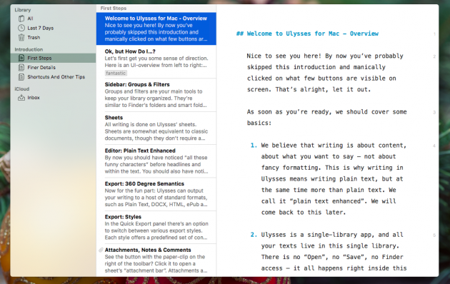 Лучший текстовый редактор для mac os. Самые крутые текстовые редакторы для macOS и iOS