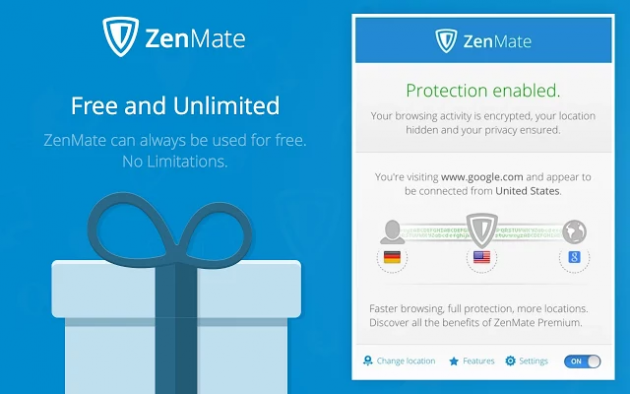 Бесплатные VPN для Chrome: ZenMate VPN