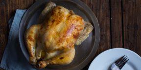 Как приготовить курицу без рецепта