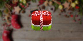 Greeting Cards: Christmas Stockings — вяжем нарядные новогодние носки для друзей