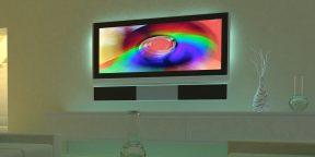 PaintPack: динамическая подсветка Ambilight своими руками