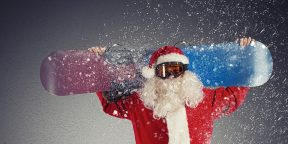 ВИДЕО: Тренировка Санта-Клауса