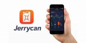 Jerrycan для iOS — трекер топлива, который поможет сократить расходы на авто