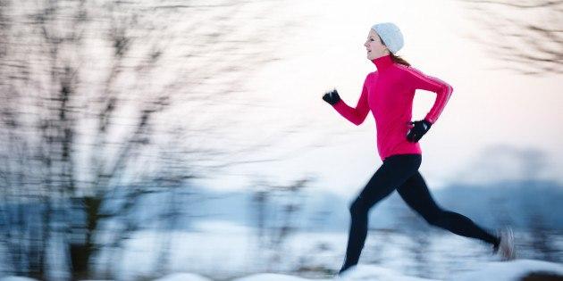 Кроссовки и одежда для бега зимой