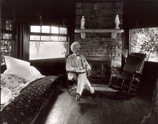 Марк Твен, американский писатель и журналист