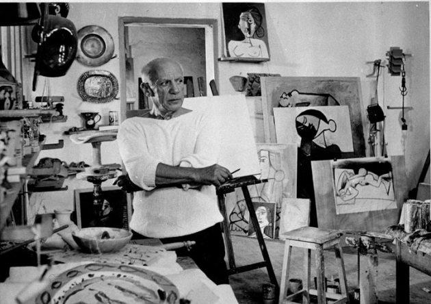 Пабло Пикассо, испанский художник и скульптор