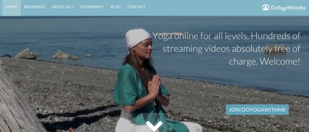 Йога онлайн: DoYogaWithMe