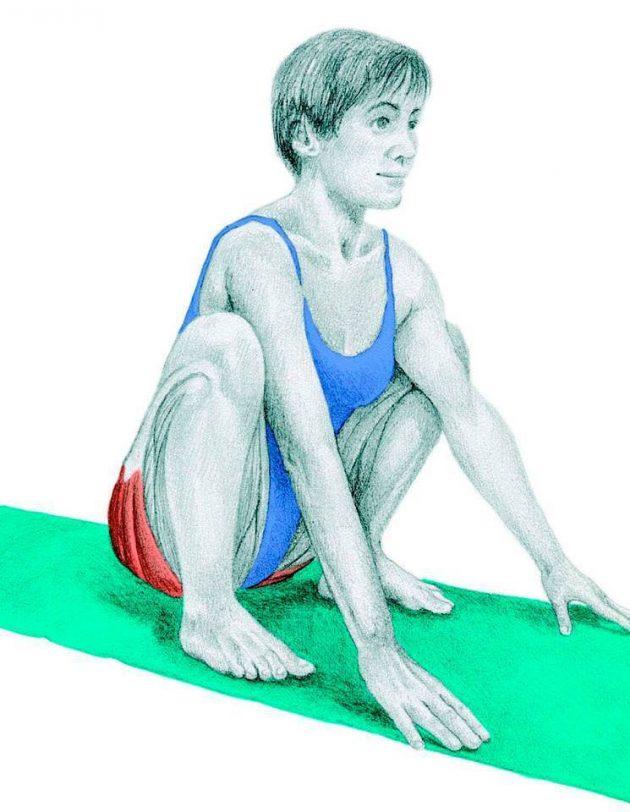 Анатомия стретчинга: глубокий присед