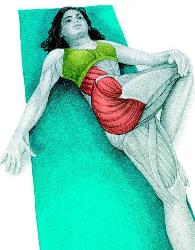 Анатомия стретчинга: скручивание