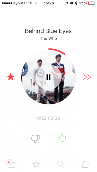 MusicSense для iOS