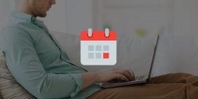 iCultus — простой виджет-календарь для строки меню OS X