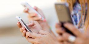 Смартфоны портят нашу осанку, настроение и память