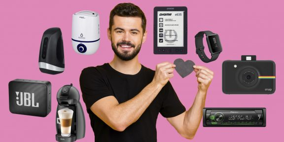 12 подарочных гаджетов на День святого Валентина