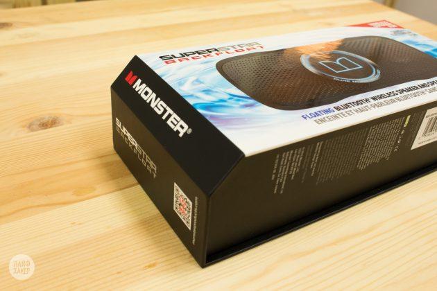 Monster SuperStar BackFloat: коробка