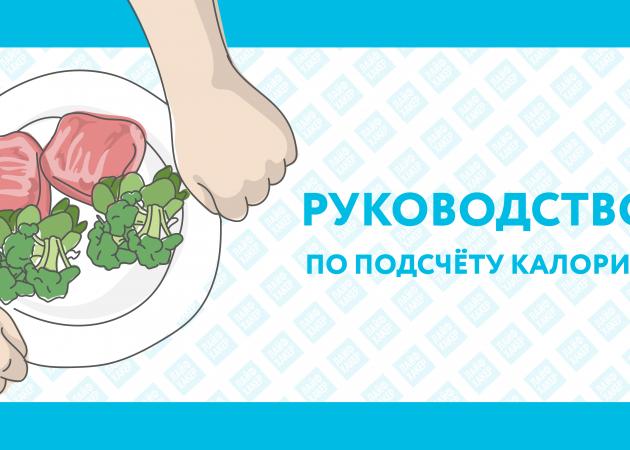 ИНФОГРАФИКА: Как быстро посчитать калории
