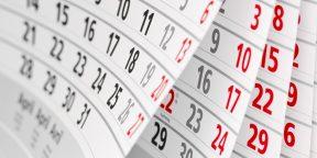 Как определить день недели по дате, не заглядывая в календарь